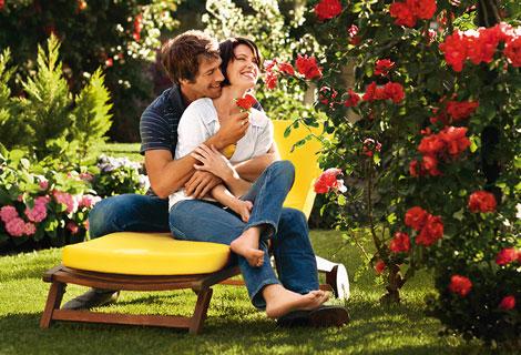 Ogrody ozdobione różami
