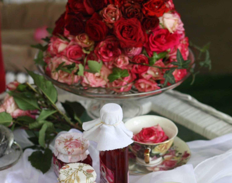 Różane smakołyki