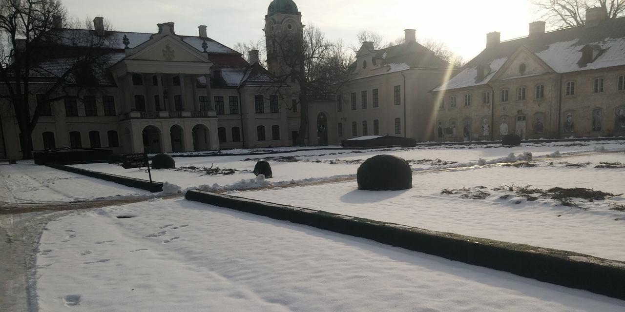 Zimowa wizyta w Różance Pałacu w Kozłówce